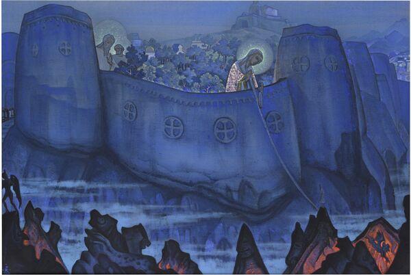 """El cuadro """"Madonna Laboris"""", de Nikolái Roerich - Sputnik Mundo"""