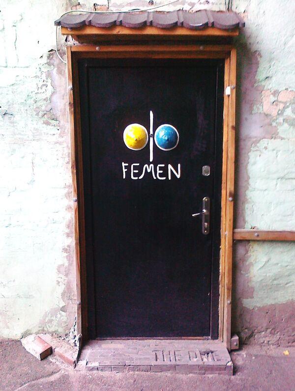 Дa puerta de la oficina FEMEN - Sputnik Mundo