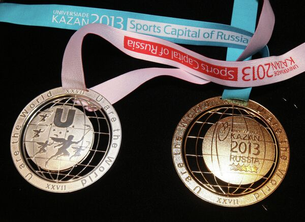 Medallero de la Universiada de Kazán 2013 - Sputnik Mundo
