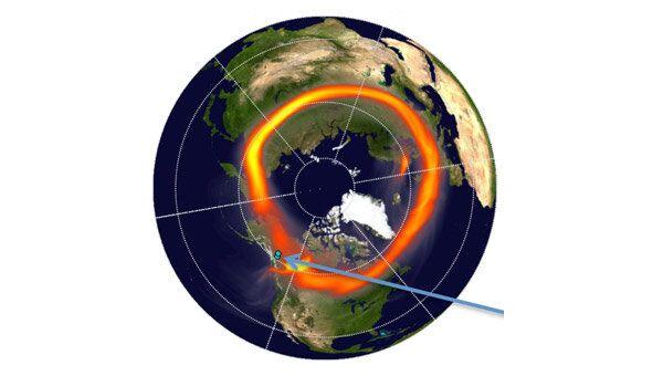 El bólido de Cheliábinsk formó nube de polvo gigantesca en la estratosfera - Sputnik Mundo