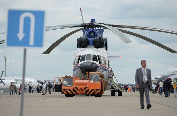 Constructora aeronáutica rusa firma contratos por USD 12.000 millones en MAKS 2013 - Sputnik Mundo