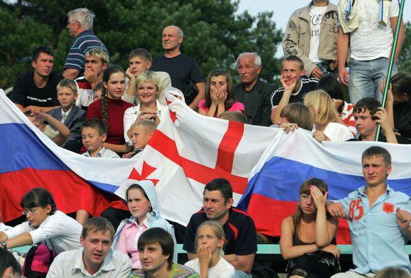 Los rusos perciben hoy menos tensión entre Moscú y Tiflis - Sputnik Mundo