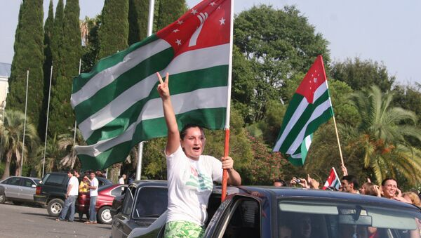 Sujumi, la capital de Abjasia - Sputnik Mundo