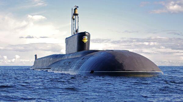 Submarino nuclear Alexandr Nevski, segunda unidad del proyecto 955 clase Borei - Sputnik Mundo