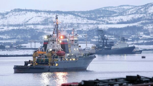 Puerto de Severomorsk - Sputnik Mundo