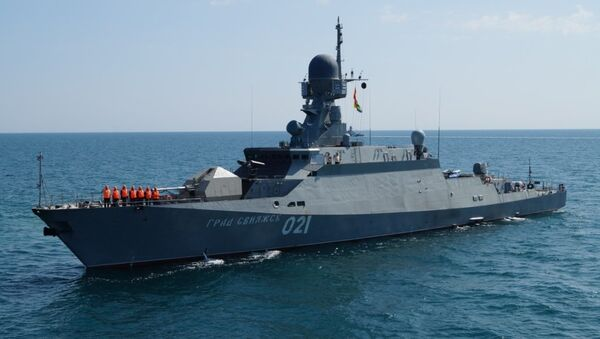 Barco portamisiles Grad Sviyazhsk - Sputnik Mundo