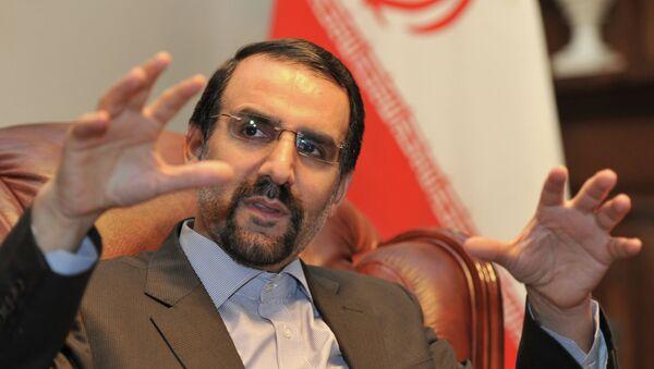 Mehdi Sanai, embajador de Irán en Rusia (archivo) - Sputnik Mundo