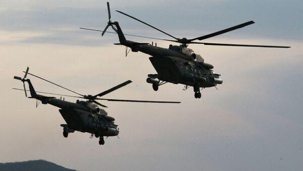 Helicóptero de reconocimiento no tripulado será fácil de transportar en un helicóptero como el Mi-8 - Sputnik Mundo