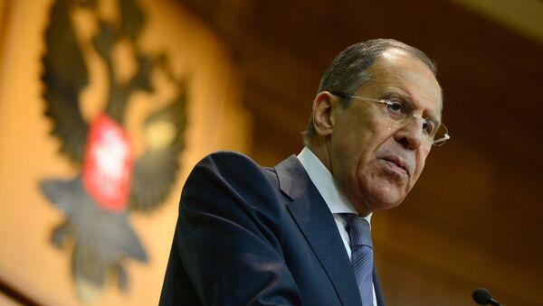 El ministro de Exteriores ruso, Serguéi Lavrov - Sputnik Mundo