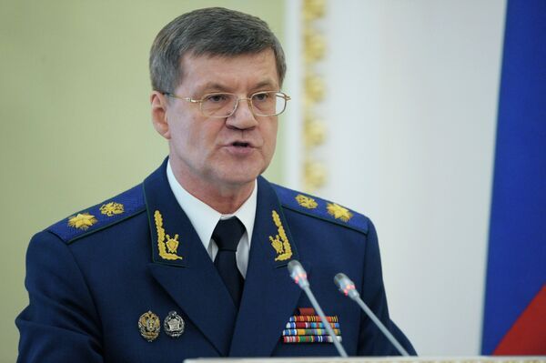 Yuri Chaika, fiscal general ruso - Sputnik Mundo