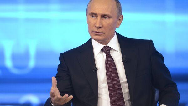 Putin desmiente presencia de militares rusos en el este de Ucrania - Sputnik Mundo