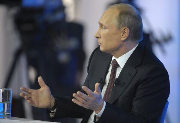 Putin asegura que el telón de acero no volverá - Sputnik Mundo