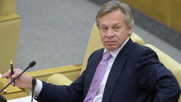 Председатель комитета Государственной Думы РФ по международным делам Алексей Пушков - Sputnik Mundo