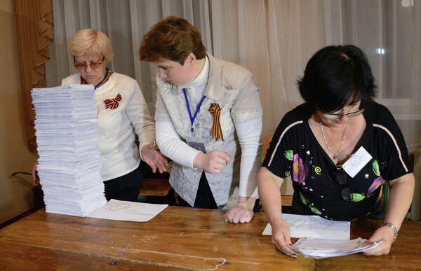"""Lugansk dice """"sí"""" a la autodeterminación de la región - Sputnik Mundo"""