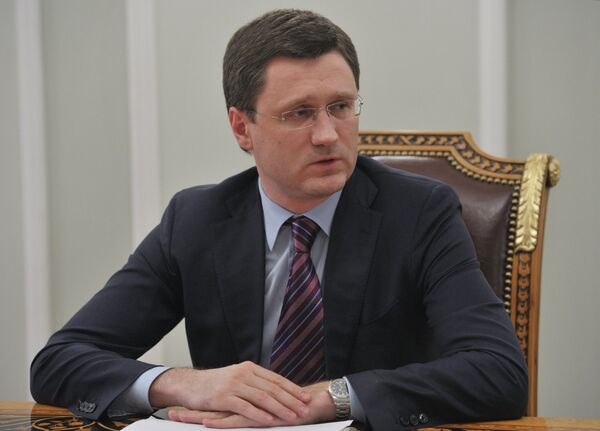 El ministro ruso de Energía, Alexandr Nóvak - Sputnik Mundo
