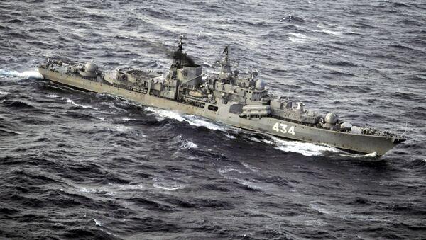 Buque antisubmarino Severomorsk - Sputnik Mundo