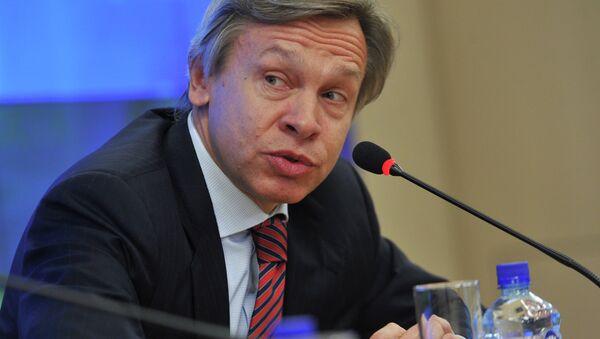 Alexéi Pushkov, jefe del comité de Asuntos Internacionales de la Duma rusa - Sputnik Mundo