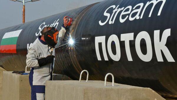 La construcción del gasoducto South Stream - Sputnik Mundo