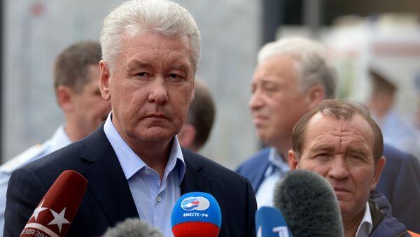 Serguéi Sobianin, alcalde de Moscú - Sputnik Mundo