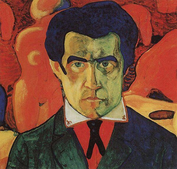 Kazimir Malévich. Autorretrato. 1910 - Sputnik Mundo