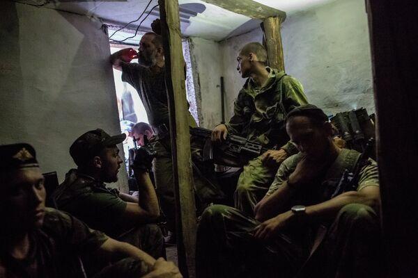 Milicias de Donetsk - Sputnik Mundo