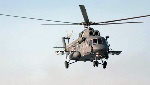 Helicóptero Mi-8AMTSh - Sputnik Mundo