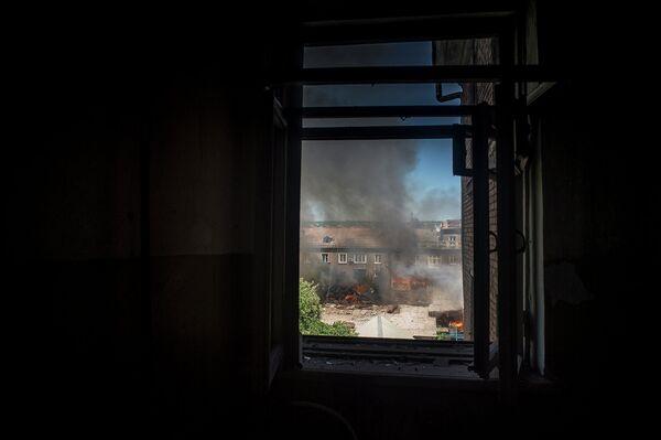 La OSCE constata numerosas víctimas en los bombardeos del 17 al 19 de julio en Lugansk - Sputnik Mundo