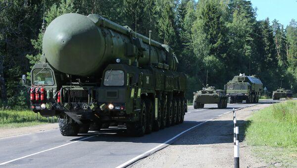 Lanzadera de misiles Yars - Sputnik Mundo