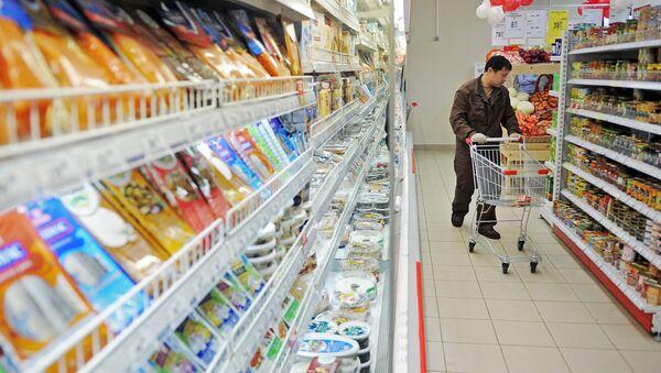 Importaciones rusas de alimentos caen un 53% en cuatro meses del año - Sputnik Mundo