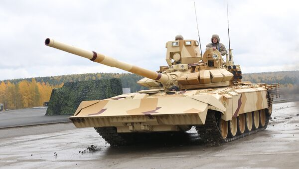 Tanque ruso T-72 - Sputnik Mundo