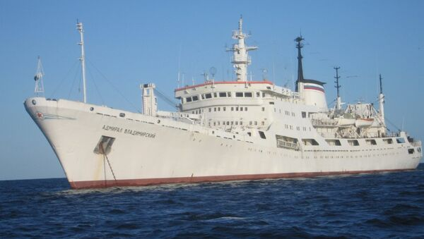 Buque oceanográfico Almirante Vladímirski - Sputnik Mundo