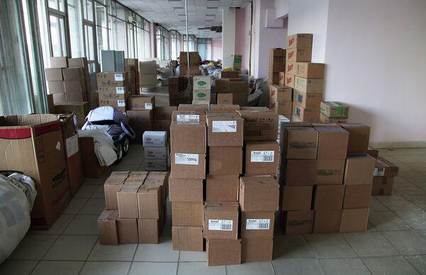 Rusia destina casi 2.000 toneladas de ayuda a refugiados ucranianos en Rostov - Sputnik Mundo