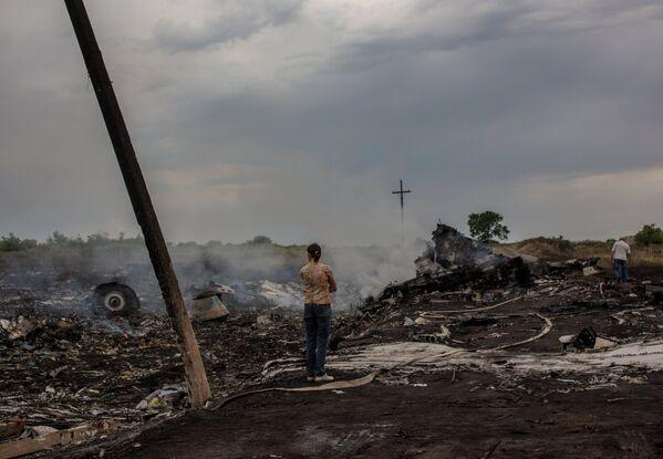 Un año de la tragedia del MH17 en Donetsk - Sputnik Mundo