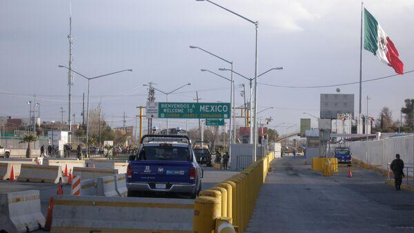 Frontera entre México y EEUU - Sputnik Mundo