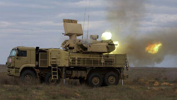 Pantsir-S1, uno de los sistemas de defensa antiaérea en servicio del Ejército sirio (archivo) - Sputnik Mundo