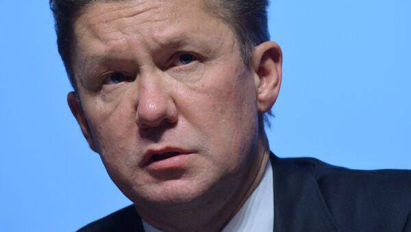 Alexéi Miller, director de Gazprom - Sputnik Mundo