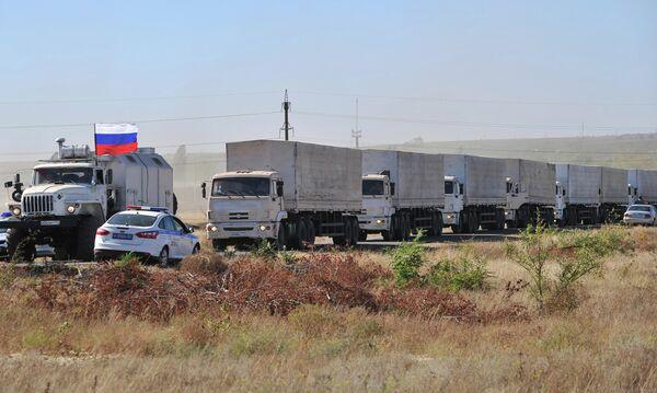 El CICR no participará en el envío de la ayuda humanitaria rusa al este de Ucrania - Sputnik Mundo