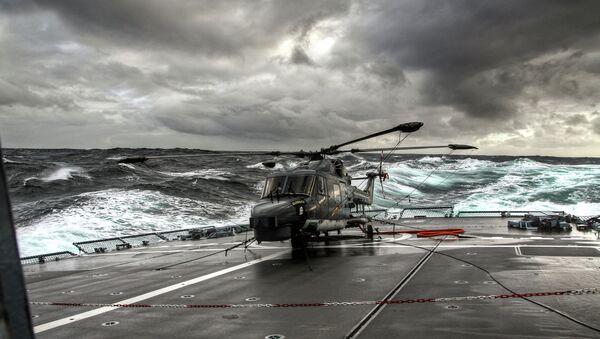 Helicóptero Lynx - Sputnik Mundo