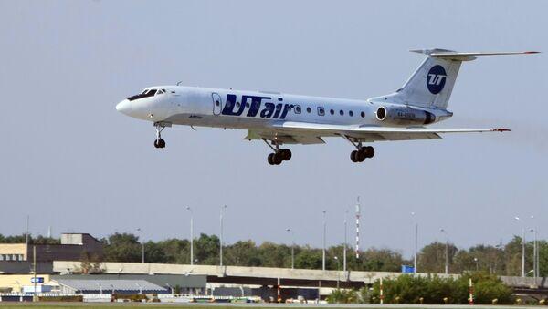 Un avión de la compañía aérea UTair - Sputnik Mundo