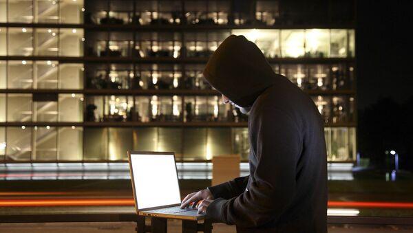 Un hacker - Sputnik Mundo