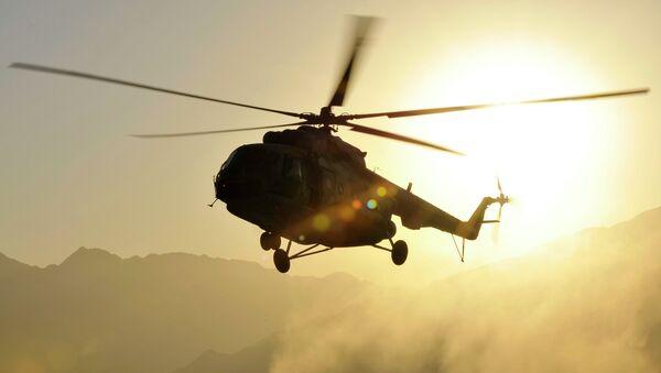 Helicóptero Mi-17 en Afganistán (archivo) - Sputnik Mundo