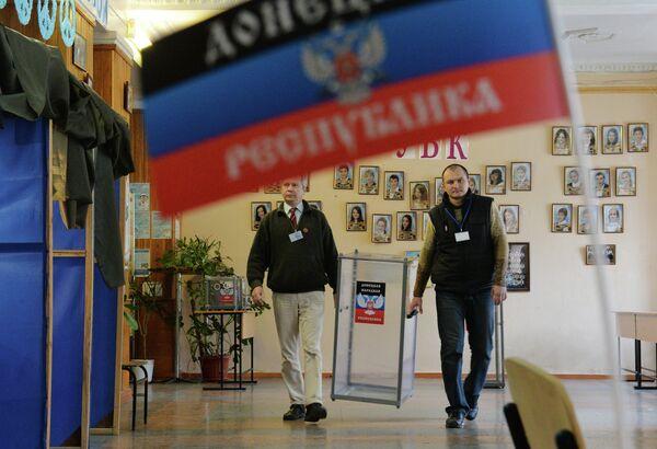 Las elecciones formaron la estructura política en Donetsk y Lugansk, opinan expertos - Sputnik Mundo