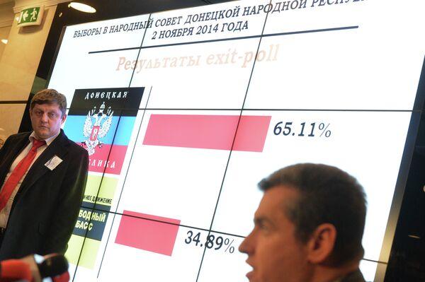 Activistas internacionales califican de limpias y abiertas las elecciones en Donbás - Sputnik Mundo