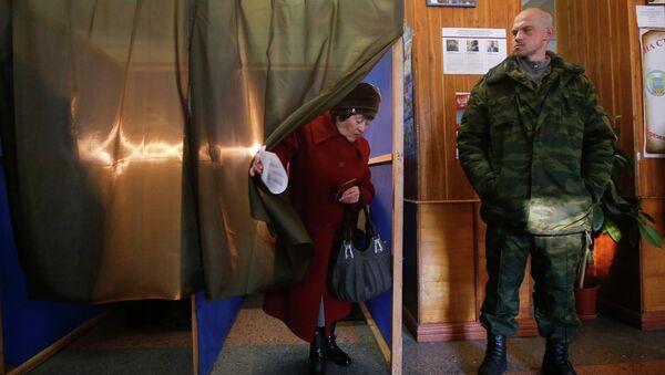 Elecciones en las autoproclamadas repúblicas de Donetsk y Lugansk - Sputnik Mundo