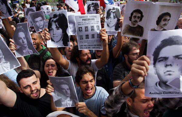 Exmilitares brasileños intentan frenar la publicación de los crímenes de la dictadura - Sputnik Mundo