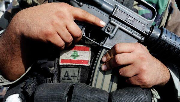 Soldado del ejército de Líbano - Sputnik Mundo