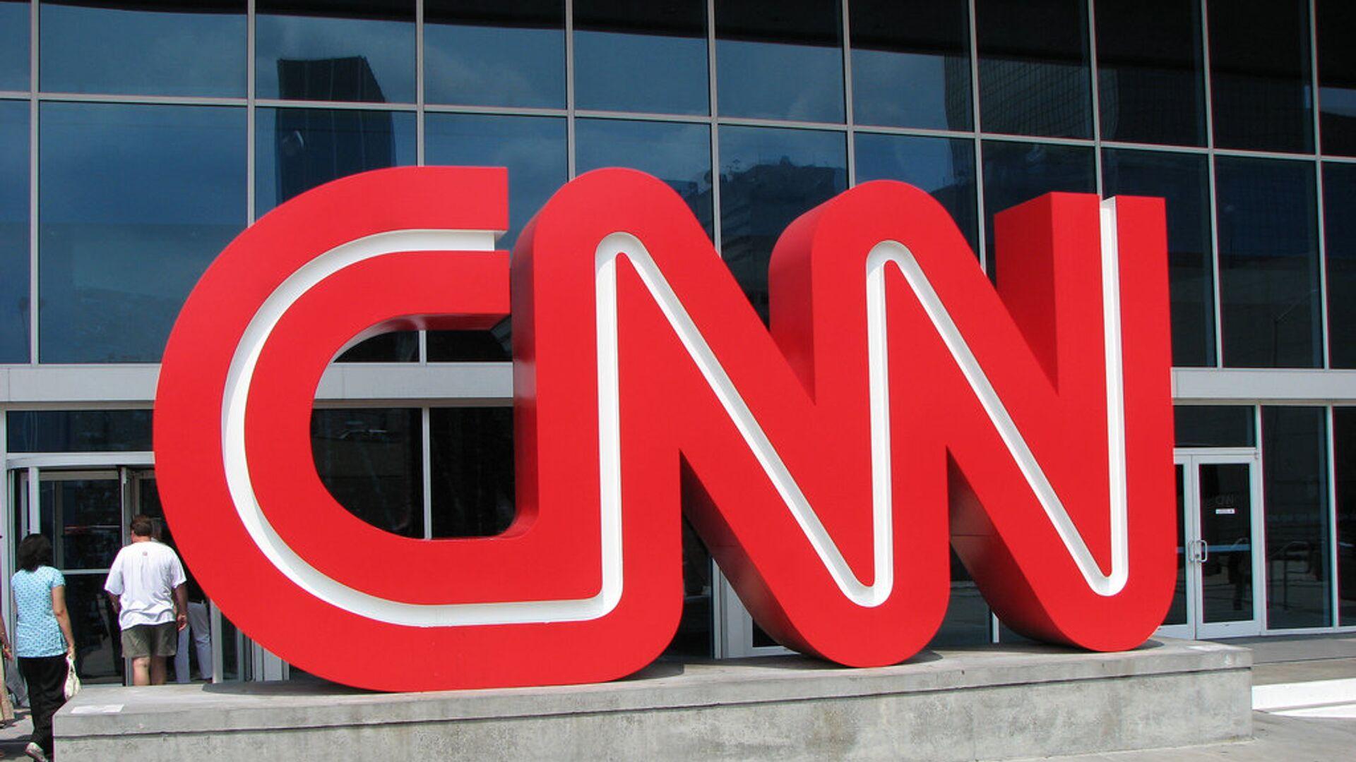 Здание телеканала CNN - Sputnik Mundo, 1920, 29.09.2021