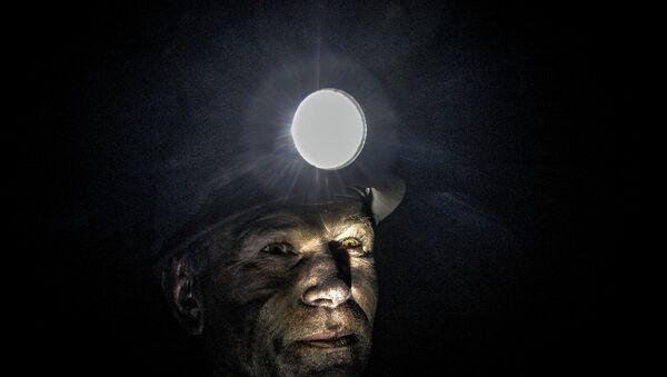 Minero ucraniano - Sputnik Mundo