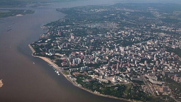 Ciudad rusa de Jabárovsk - Sputnik Mundo