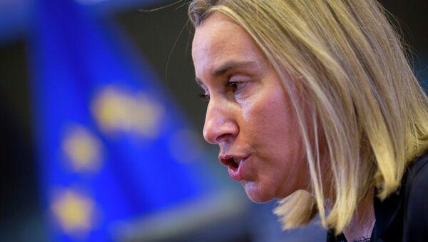 Federica Mogherini, Alta Representante de la Unión Europea - Sputnik Mundo